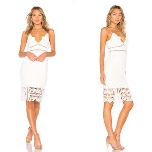 Bardot Botanica Lace Dress in Ivory